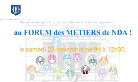 Le Forum des métiers : extraits